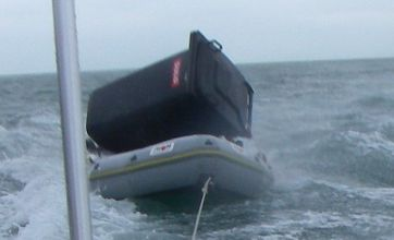 81-year-old sailor who rowed out to save wheelie bin sparks rescue bid