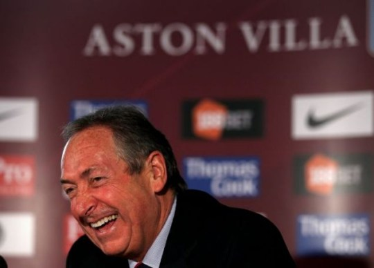 Aston Villa's Gerard Houllier has no qualms with former Liverpool players (Photo: Getty)