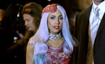 Lady Gaga 'meat dress' shocks MTV awards