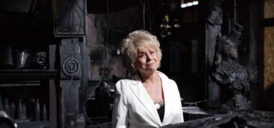 So long: Peggy Mitchell (BBC/PA)
