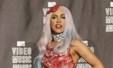Lady Gaga defends meat dress by claiming she's no 'piece of meat'