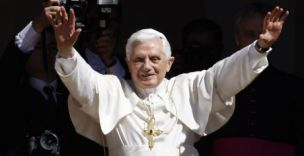 Pope Benedict XVI is coming to the UK