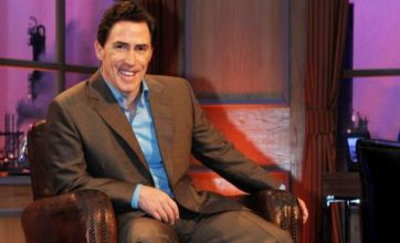 The Rob Brydon Show and QI are tonight's TV highlights