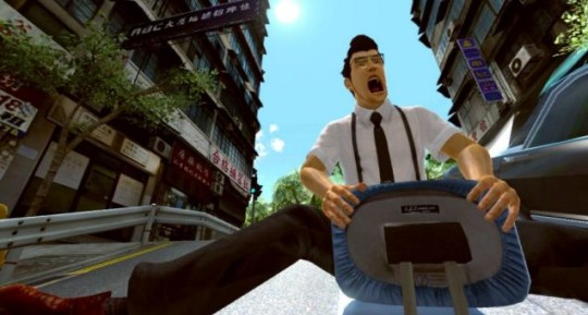 Kung Fu Rider (PS3) – the least exciting thing you can do with an office chair