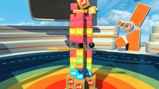 Tumble (PS3) – like Jenga only you don't have to be drunk to enjoy it
