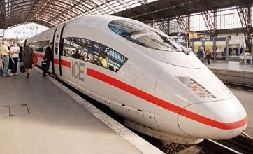 London to Frankfurt train could be departing in 2013