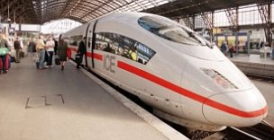 Germany's ICE intercity express high speed train