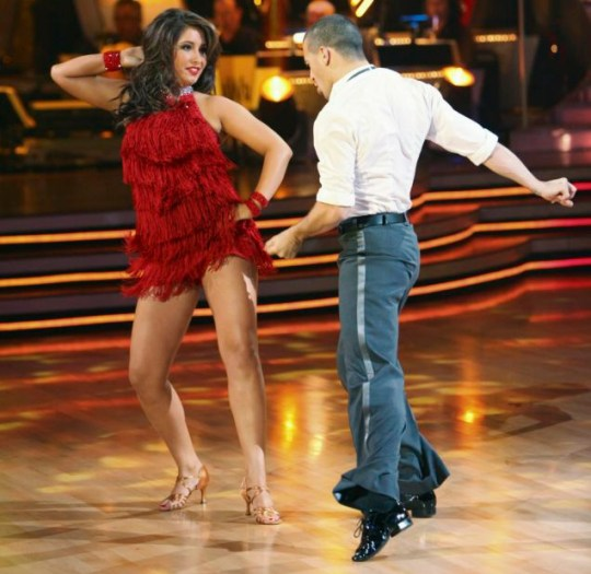Bristol Palin takes to the floor in Dancing With The Stars (Getty)