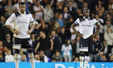 Spurs hit out at 'diving' Arsenal after Carling Cup thrashing
