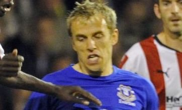 Everton's Phil Neville: 'No excuses' for Carling Cup loss