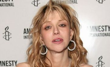 Courtney Love has a makeover