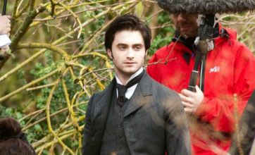 Daniel Radcliffe leaves Harry Potter behind in first Woman in Black photo