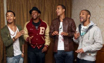 JLS prepare for chart battle with Take That