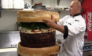 After Carl's Jr's foot-long 'burger sandwich': Five bizarre burgers
