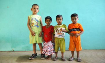 Meet Karan Singh – the tallest two-year-old in the world