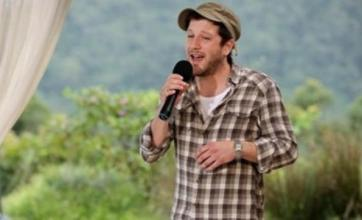 X Factor's Matt Cardle 'taking it all in his stride'