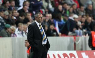 Craig Levein watched Scotland slump to defeat (PA)