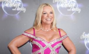 Pamela Stephenson is at the top of the Strictly leaderboard (PA)