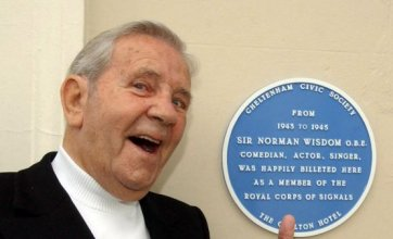 Comedian and actor Sir Norman Wisdom dies at age of 95