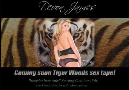 Tiger Woods sex tape, TigerTapeXXX.com