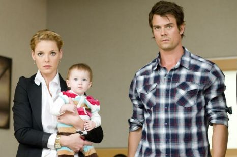 Katherine Heigl and Josh Duhamel in Life As We Know It