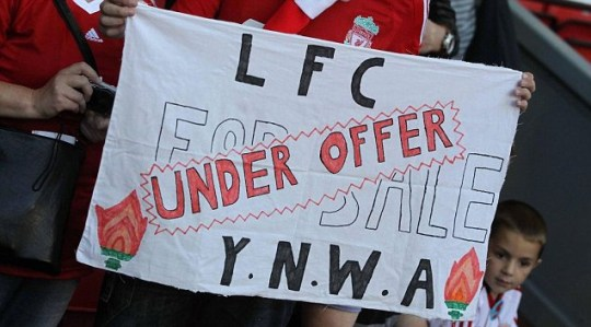 American owners George Gillett and Tom Hicks are fighting to stay involved at Liverpool FC (EPA)