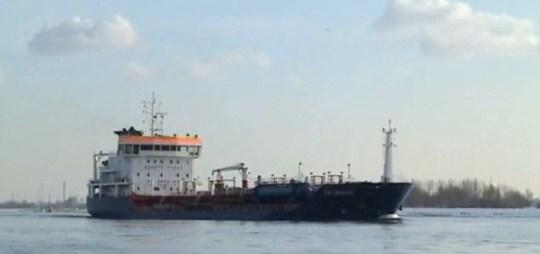 YM Uranus tanker