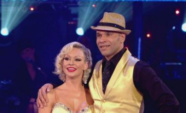 Goldie first to be booted off Strictly Come Dancing