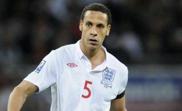 Rio Ferdinand to captain England v Montenegro