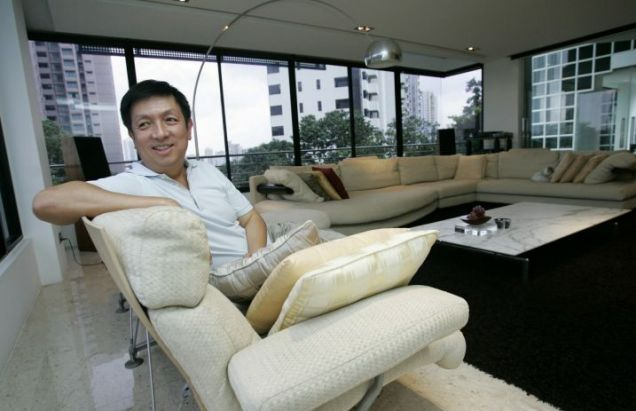 Improved bid: Singapore businessman Peter Lim (AFP/Getty)