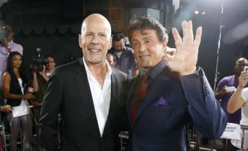 Bruce Willis and Sylvester Stallone reunited at Red premiere