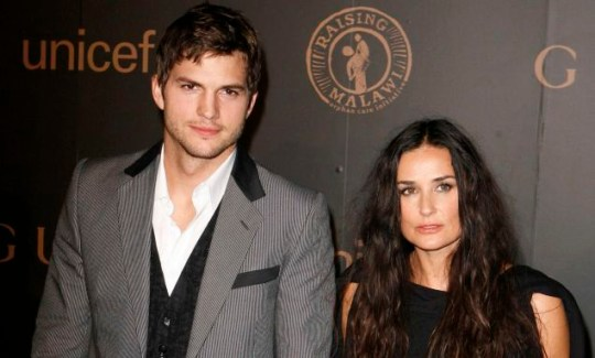 Ashton Kutcher and Demi Moore: they will tweet their love all over the place (Photo: Reuters)