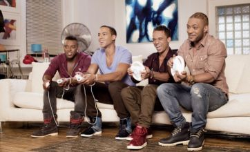 JLS are 'scared of Take That'