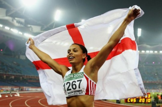English rose: Heptathlon champion Louise Hazel has emerged as a real challenger to world and Olympic champion Jessica Ennis (Picture: Getty Images)