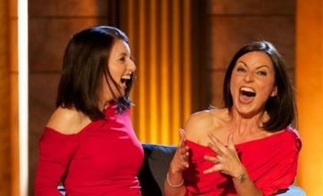 Davina McCall discovers her double on A Comedy Roast