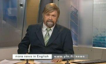 Finnish newsreader drinks beer on air, gets sacked