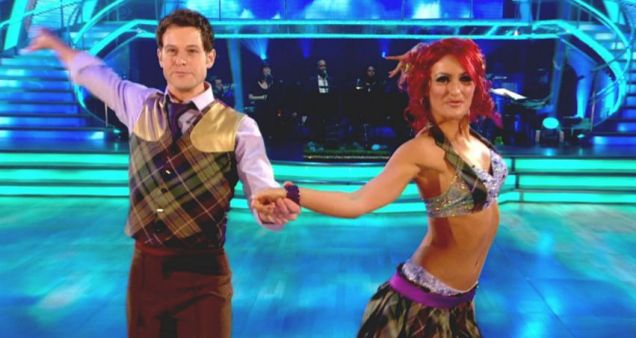 Matt Baker, Aliona Vilani, Strictly Come Dancing