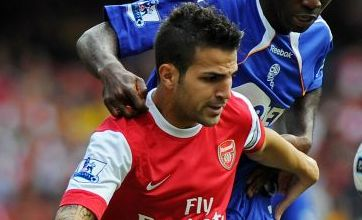 Cesc Fabregas 'will start for Arsenal v Shakhtar Donetsk'