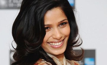 Freida Pinto supports Miral screening at BFI London Film Festival