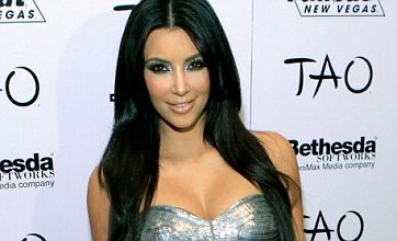 Kim Kardashian in skin-tight sparkling mini – Dare to wear?