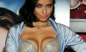 Adriana Lima displays Victoria's Secret's $2m diamond bra