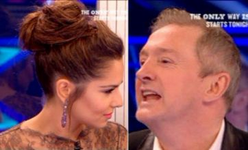 X Factor Face Off: Cheryl Cole and Louis Walsh