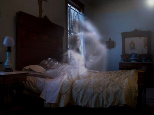 Spirit level: Four out of ten people in Britain say they believe in ghosts (Pic: Getty)