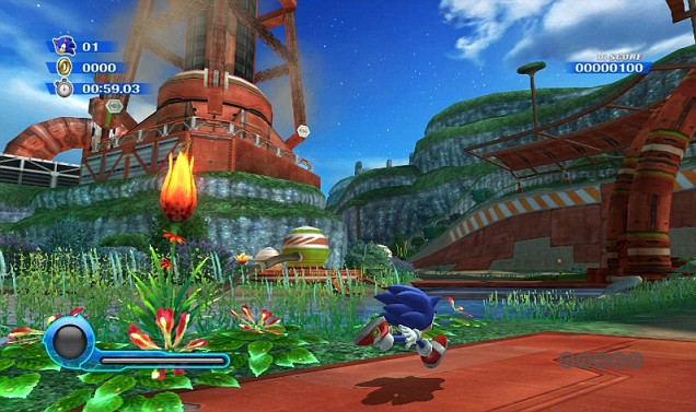 Sonic Colours (Wii) – almost the game fans have been waiting for