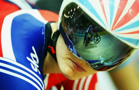 Wheely good at riding bikes: Victoria Pendleton (Getty Images)