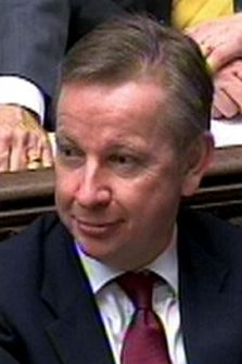 Michael Gove claimed a 'red mist' explained spelling errors in the white paper. (PA)