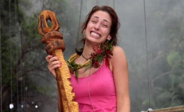 Stacey Solomon crowned I'm A Celebrity Queen of the Jungle