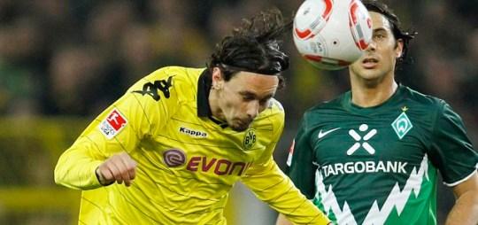 Borussia Dortmund's Neven Subotic is one of the Bundesliga's top defenders (Reuters)