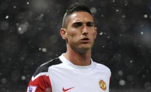 Manchester United forward Federico Macheda linked to Italian move (PA)