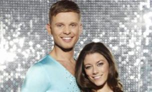Jeff Brazier says Dancing On Ice romance is not on the cards (ITV)